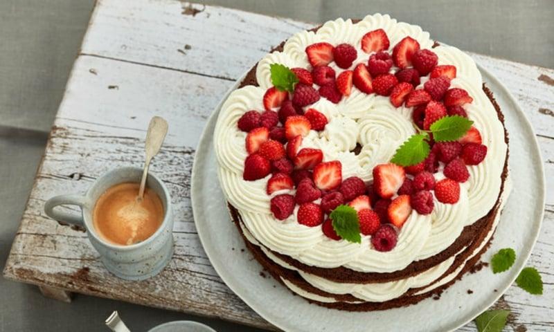 Erdbeer Deko für Torten Ideen und Anregungen
