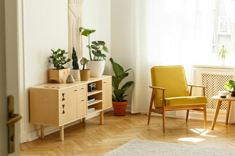 Vintage Möbel gemütliche Atmosphäre