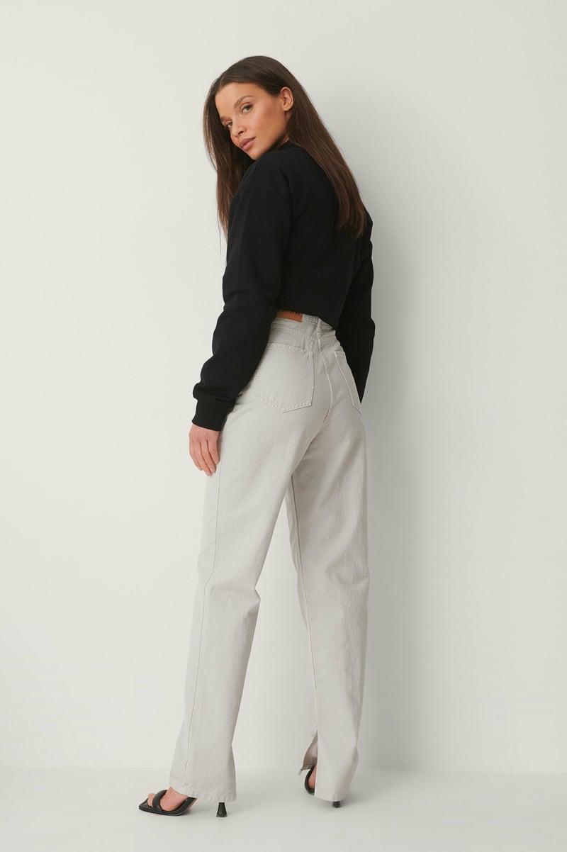 Jeans Trend 2021 weiße Jeans