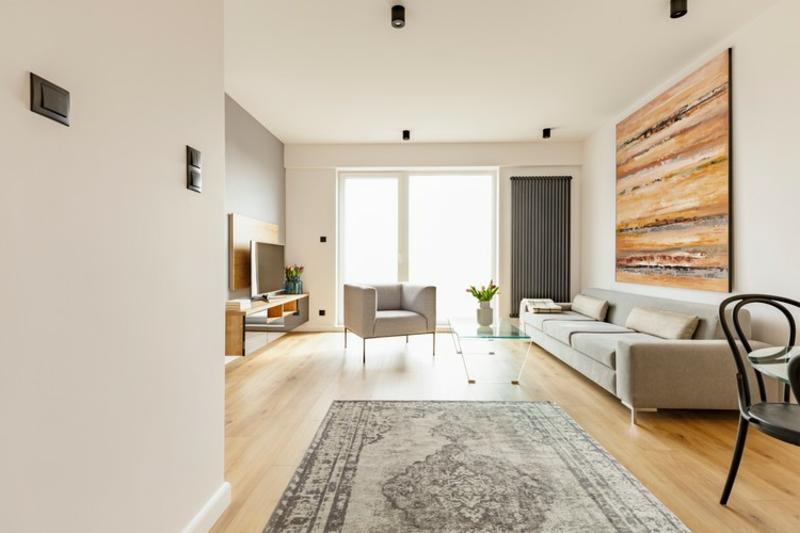 Möbeltrends 2021 minimalistisches Interieur