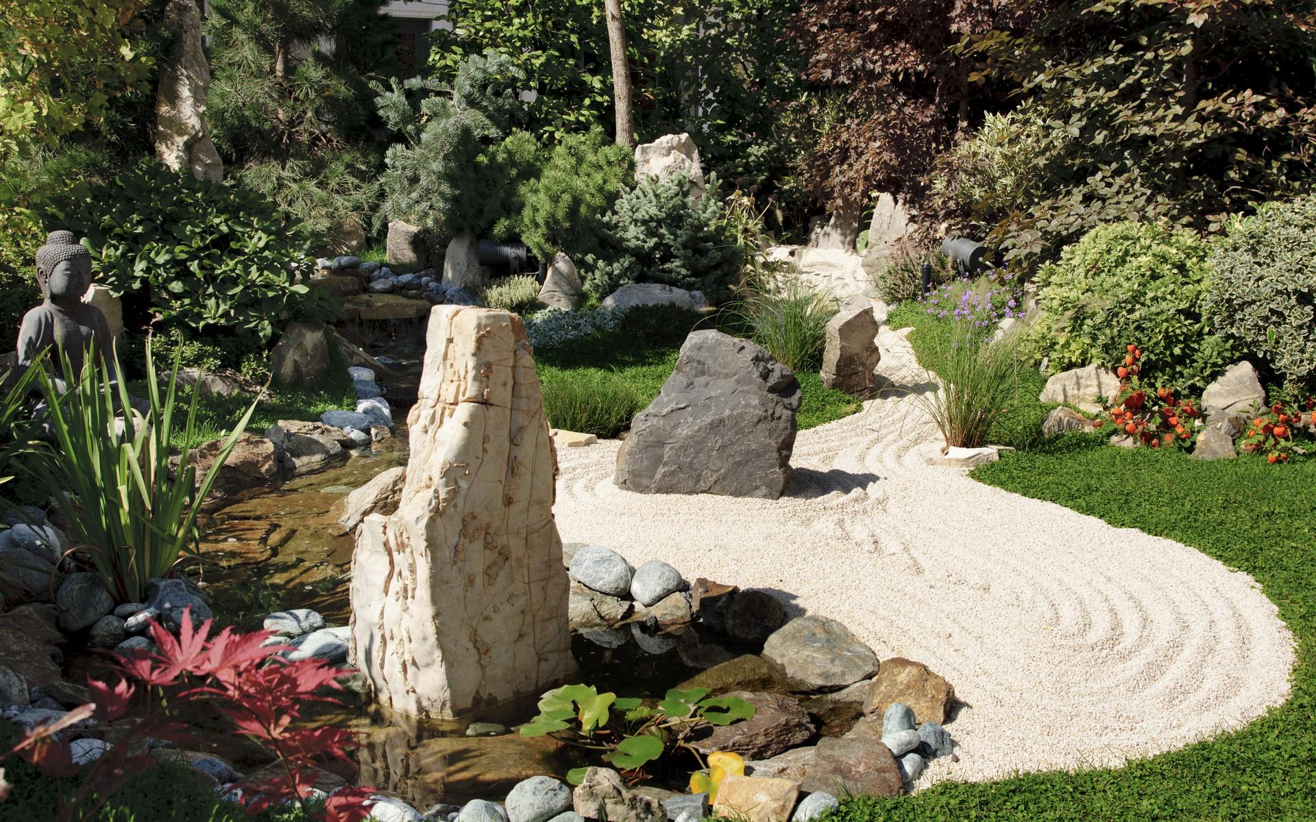 Tipps für die Pflege des Zen-Gartens