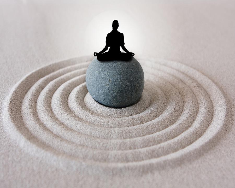 Zen-Garten to-Go