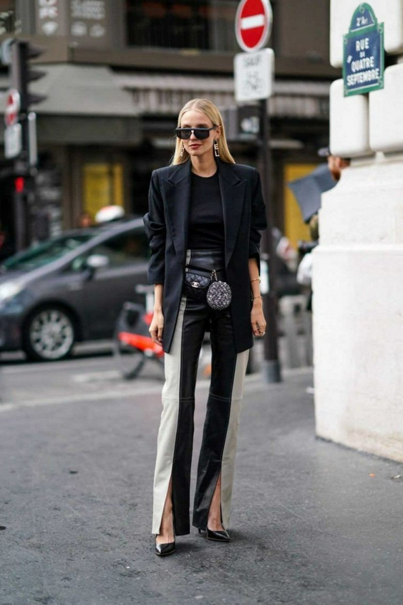 wunderschöne zweifarbige Hose