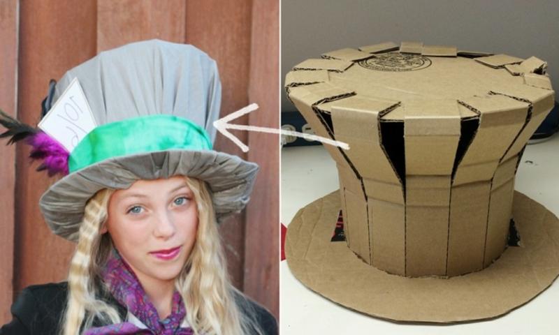 Faschingshüte DIY der verrücke Hutmacher