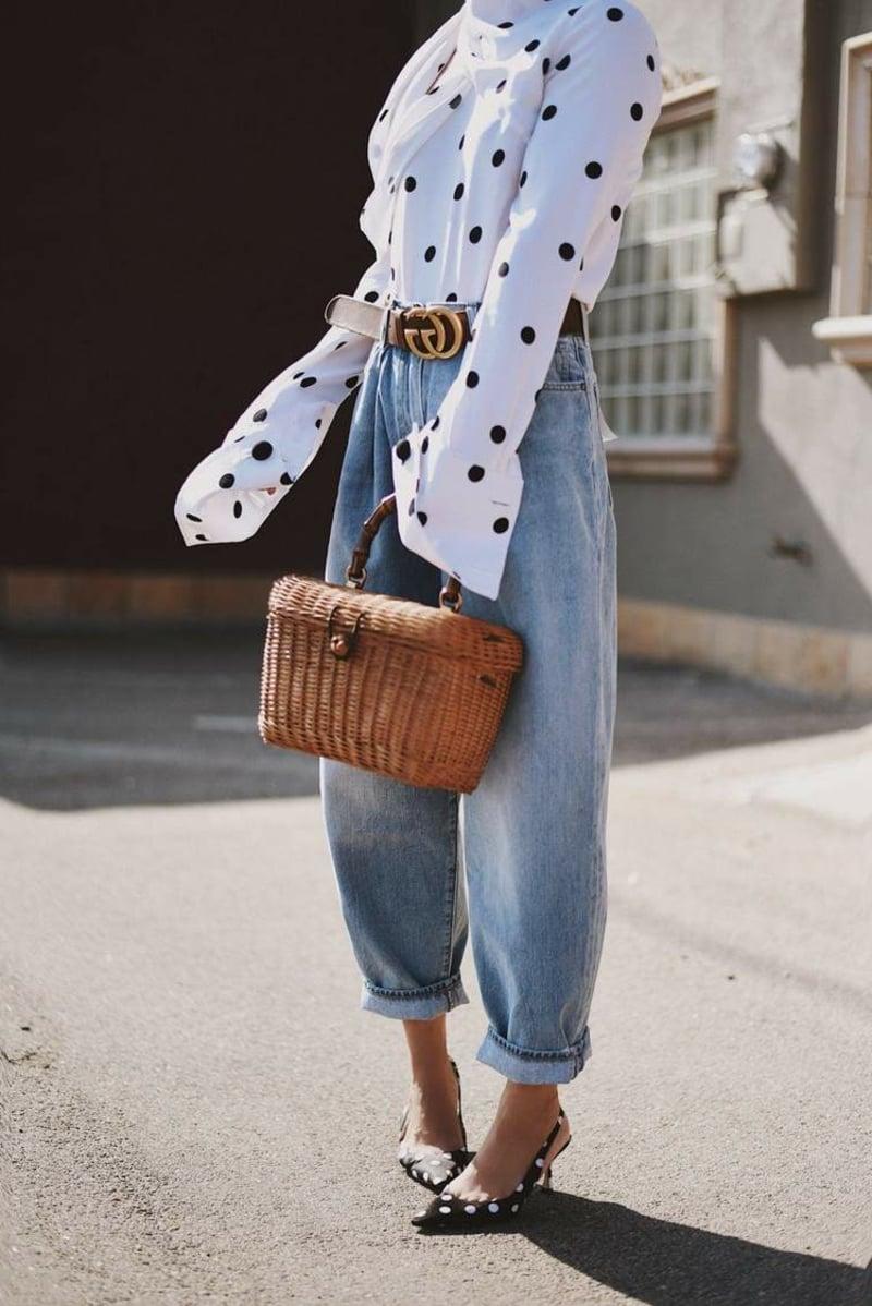 Baggy Jeans tragen modern 2021