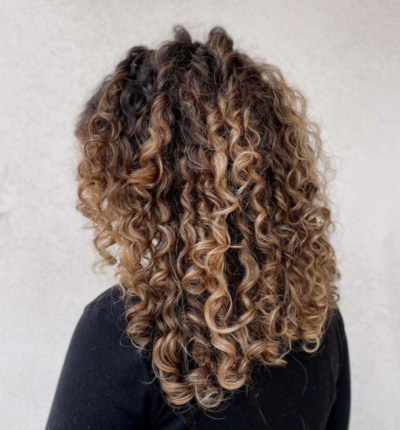 Haarfarbe Bronde originell