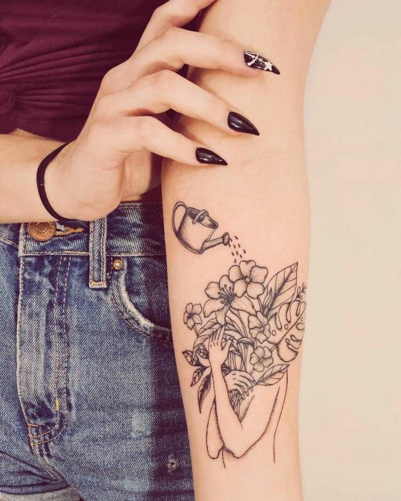 Tattoo ür sich selbst sorgen
