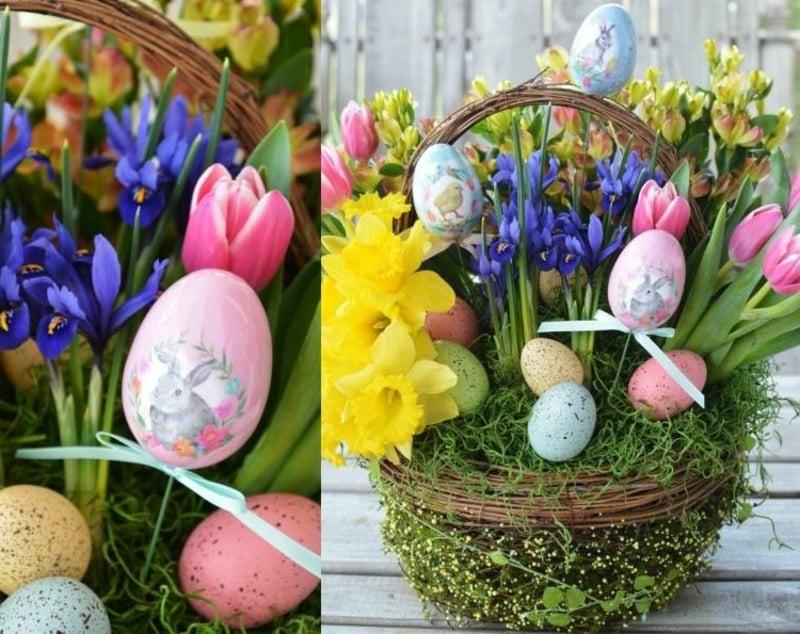 herrliche Deko zum Ostern