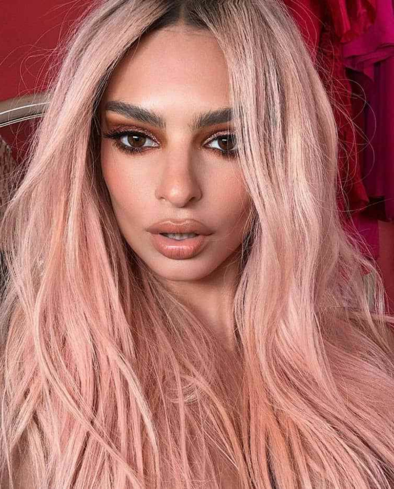 Promis Haare rosa modern