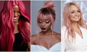 Haare rosa färben moderne Looks