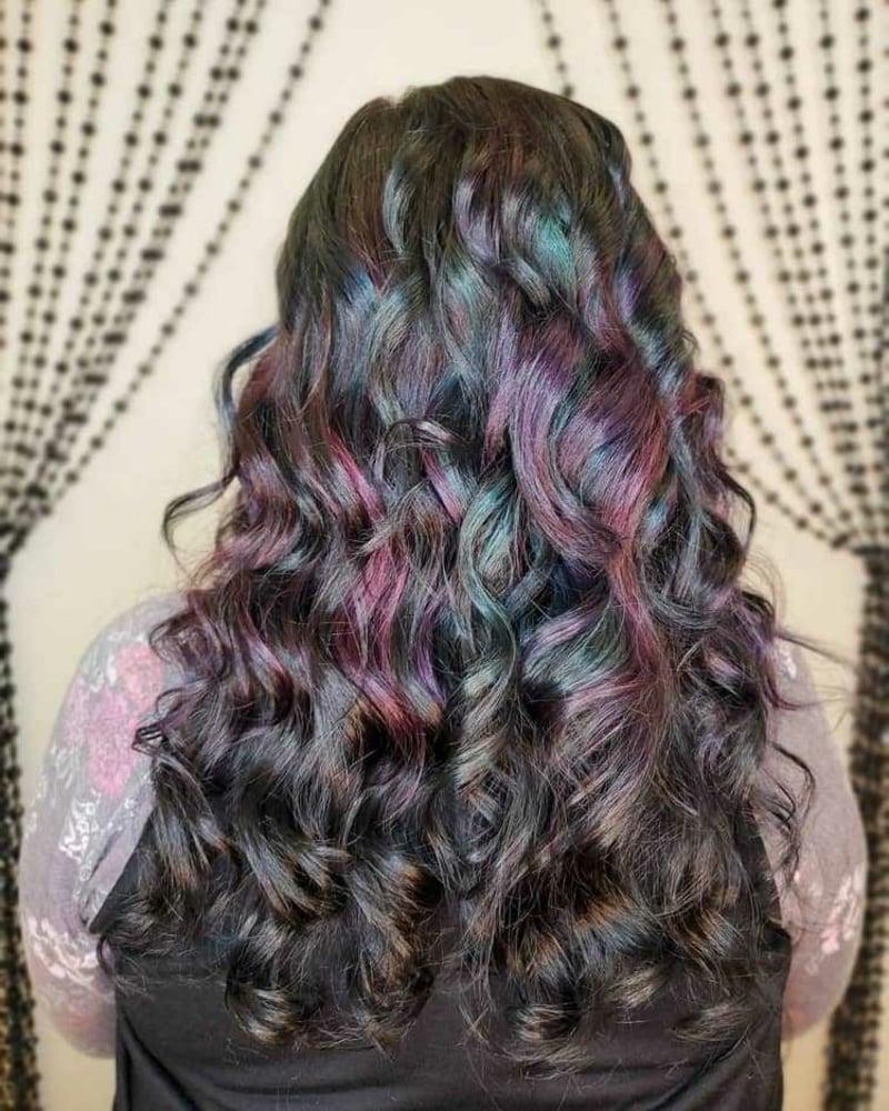 Oil Silk Frisur langes Haar