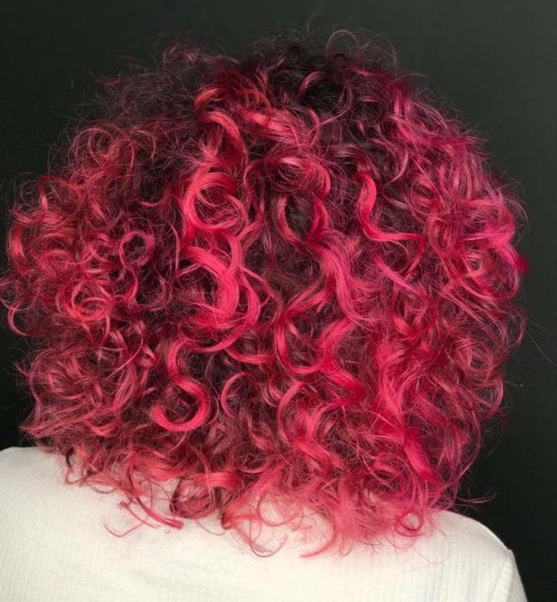 feurig rote Haare modern 2021
