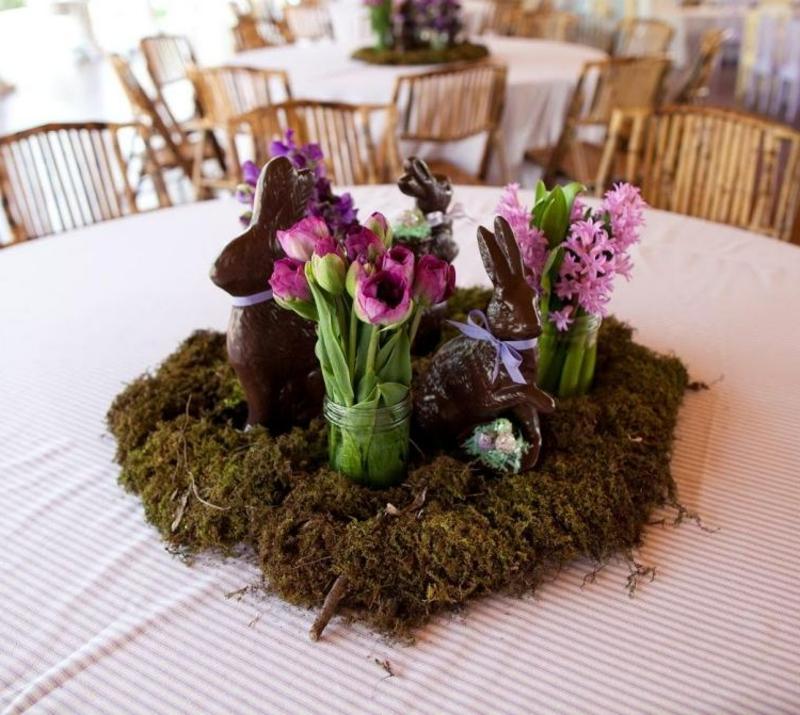 Gestecke Frühlingsblumen Tischeko