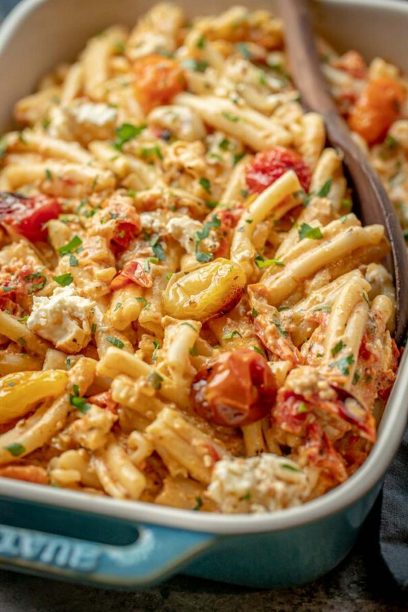 Feta Pasta Rezept schnell, leicht und lecker