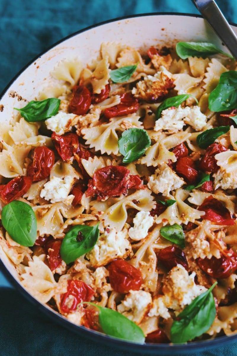 Feta Pasta Rezeptschmackhaft