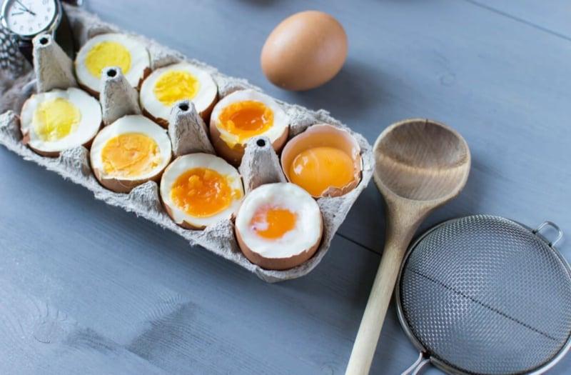 Prrotein Snacks hartgekochte Eier