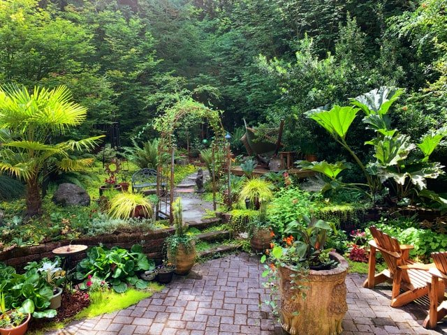 Entspannungszone: Blicke von außen Abschirmen