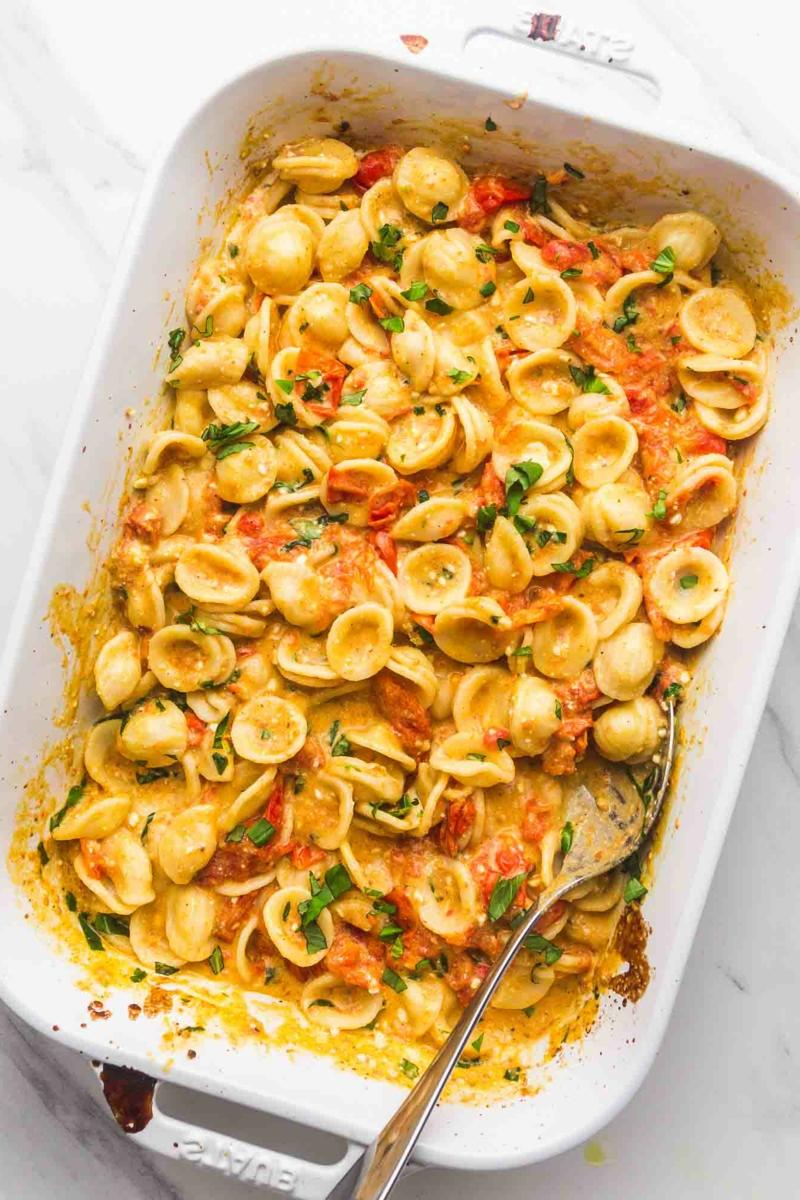 Feta Pasta Rezept aus dem Ofen