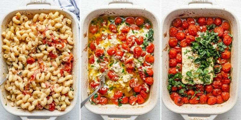 Feta Pasta Rezept Schritt für Schritt