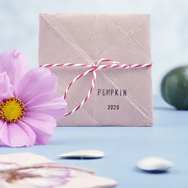 Päckchchen Papier Samen Geschenk