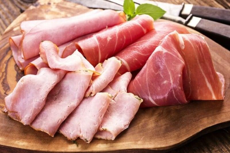 Protein Snacks Schinken Salami