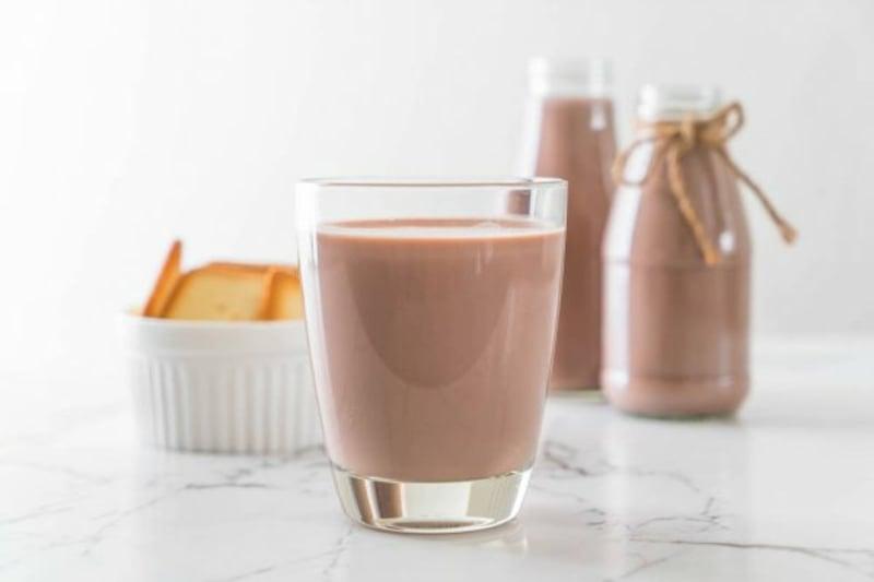 Schokoladenmilch trinken gesund