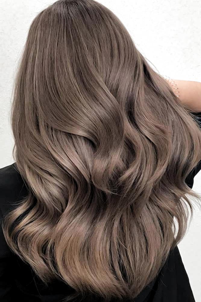 kühle Haarfarben Aschbraun