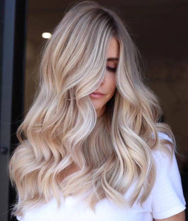 kühle Haarfarben Pearlblond