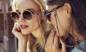 Brillenkette feiert ein Comeback in Sommermode 2021