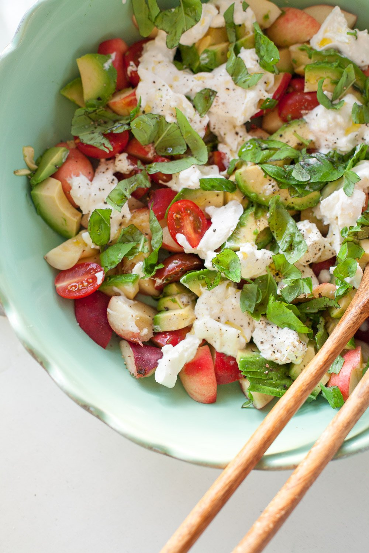 Buratta Salat super gesund und lecker
