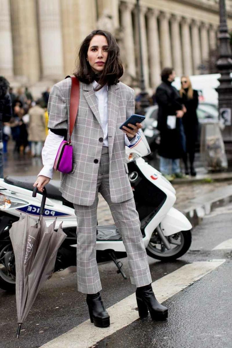 Oversize Blazer richtig tragen