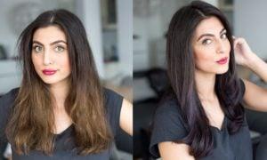 Aschbraun Haarfarbe