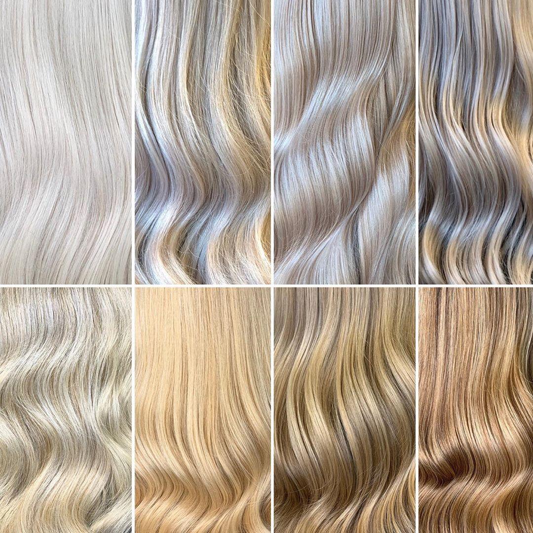 kühle Blondtöne