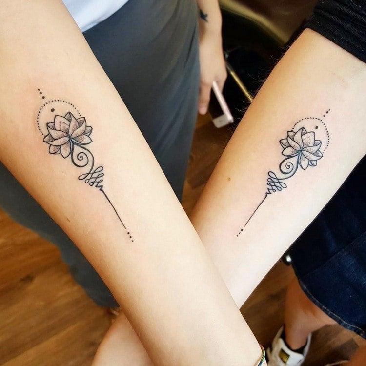 Tattooideen für Paare spirituell
