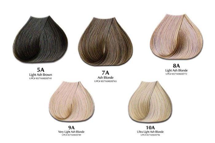 kühle Haarfarben Palette 2021