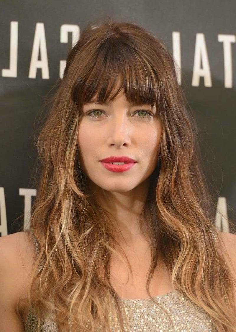 Jessica Biel Volumenschnitt für feines Haar