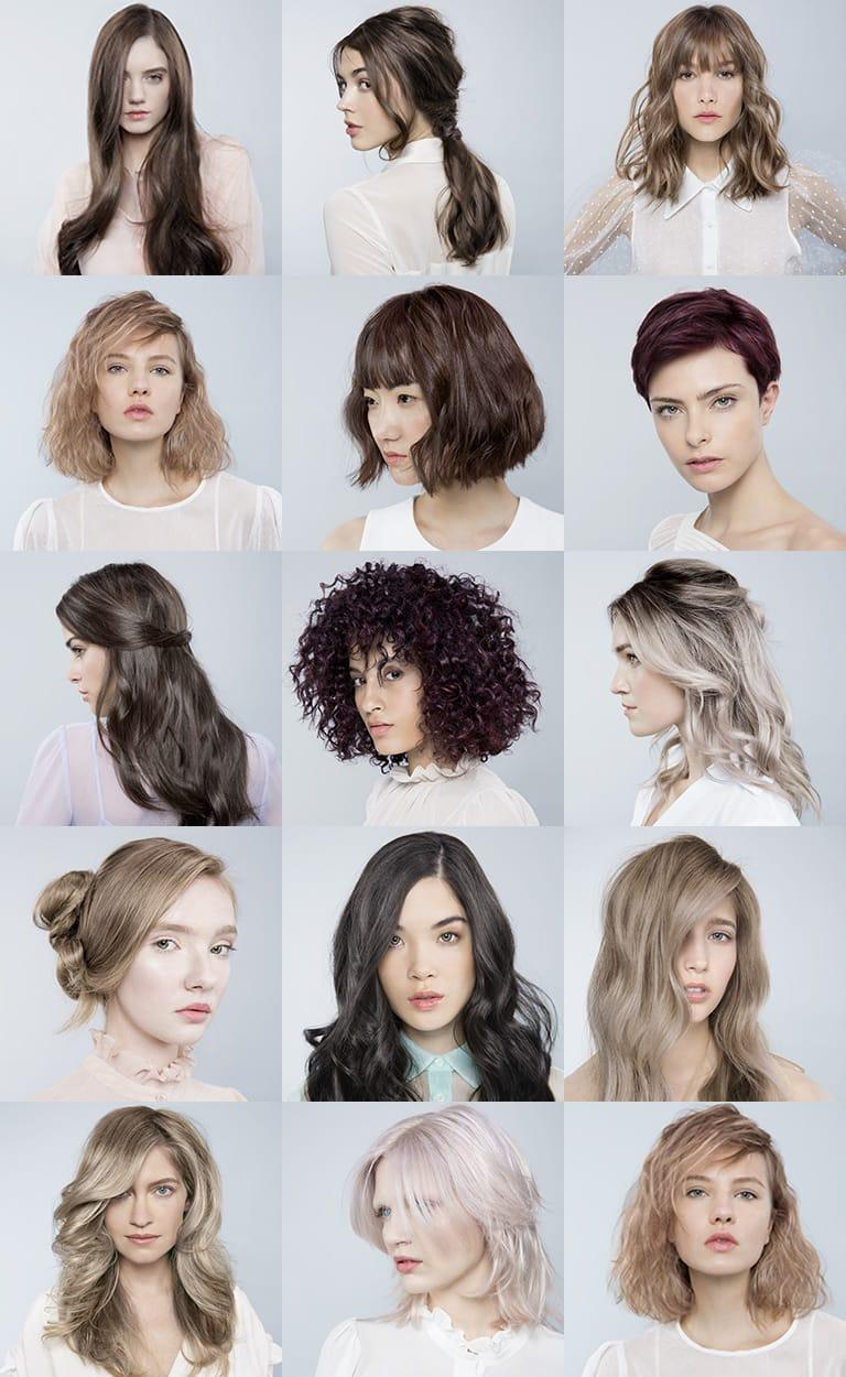 kühle Haarfarben Ideen und Anregungen