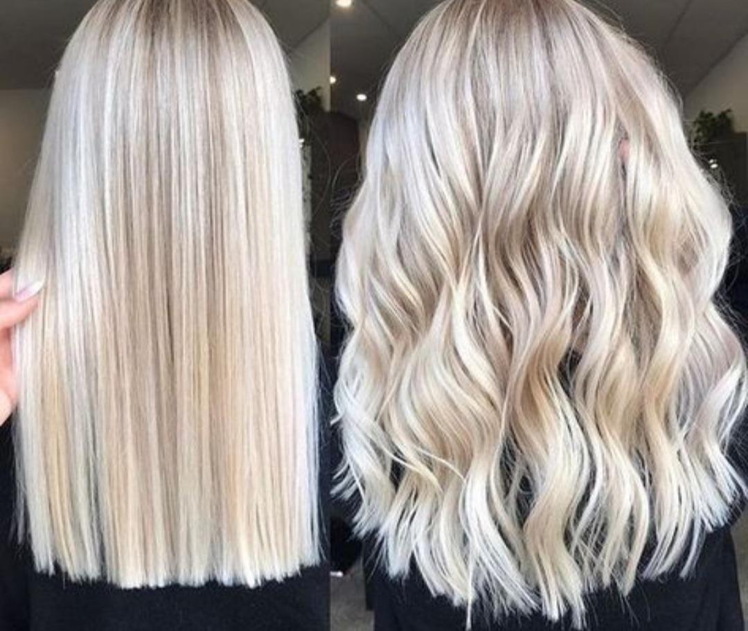 kühle Haarfarben Blond modern