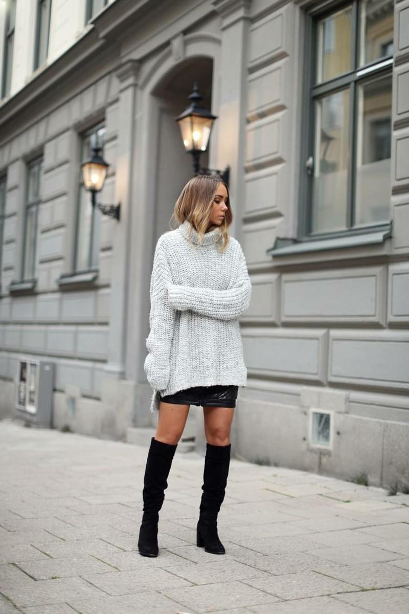 tolle Outfits für den Alltag XXL-Pulli