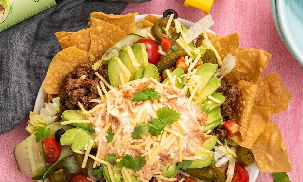 Nacho Salat Rezept
