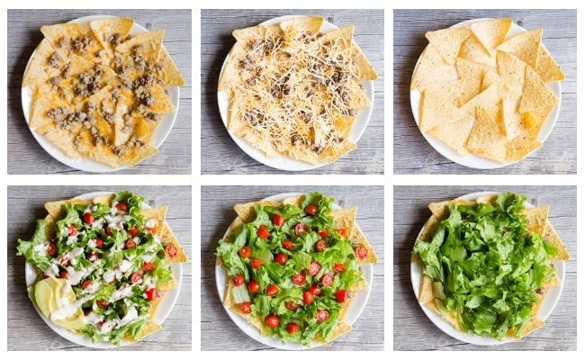Nacho Salat Rezept Zubereitung