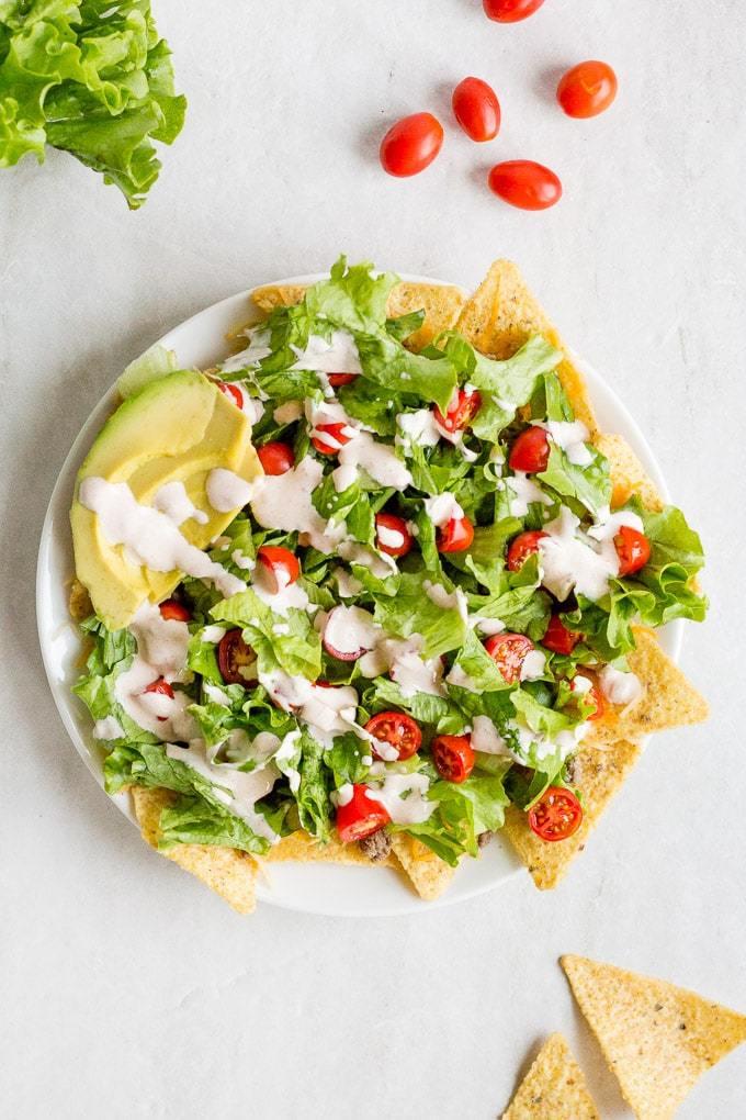 Nacho Salat Rezept Taco Salat Rezept