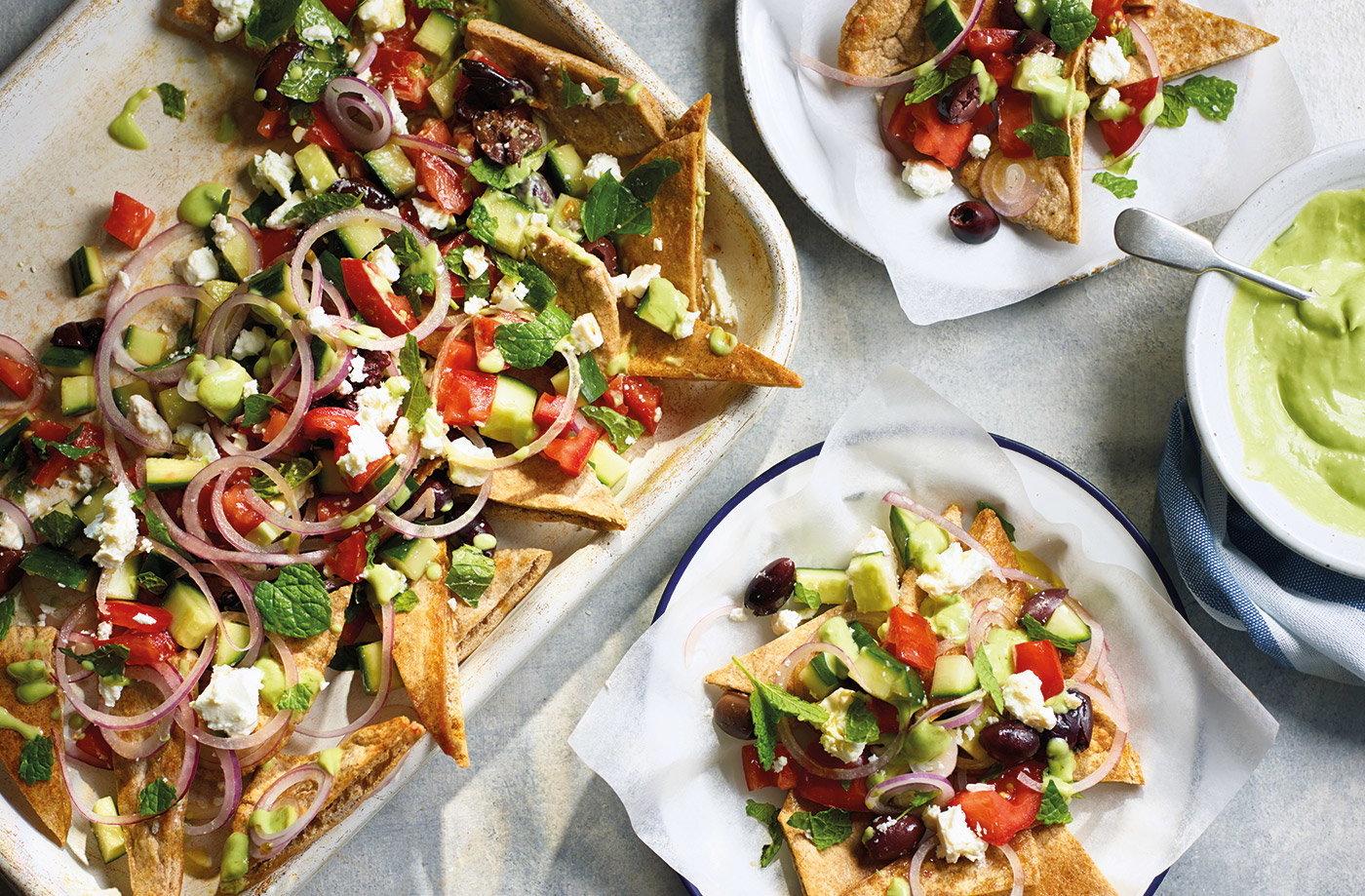 Nacho Salat selbstgemacht