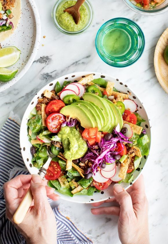Nacho Salat Tortilla Salat