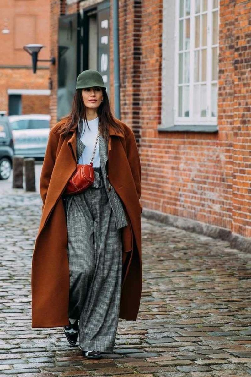Oversize Outfit für den Herbst und Winter