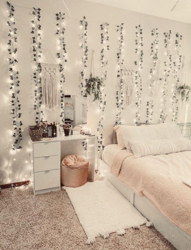 Zimmer Deko Tumblr Blumen als Wanddeko