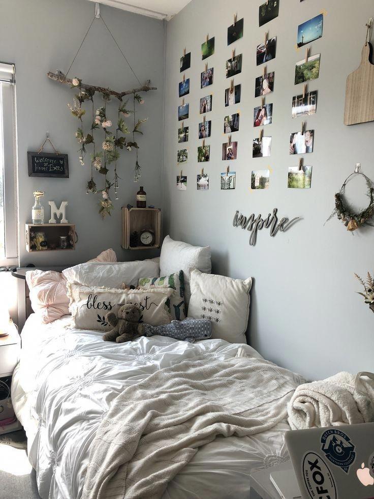 Zimmer Deko Tumblr inspiriert von Schlichtheit