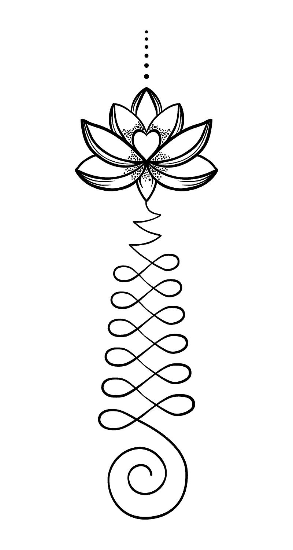 buddhistische Tattoos Vorlage