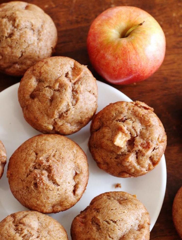 vegane Apfelmuffins leichtes Rezept