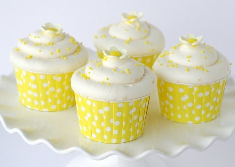 vegane Muffins mit Zitrone